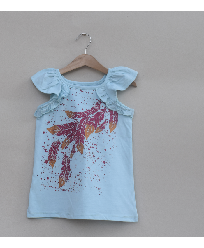 Baby Girls printed T-shirt (S19G01)