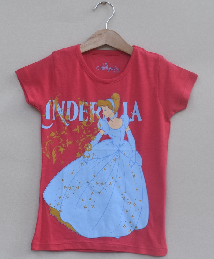 Girls printed T-shirt (S19G24)