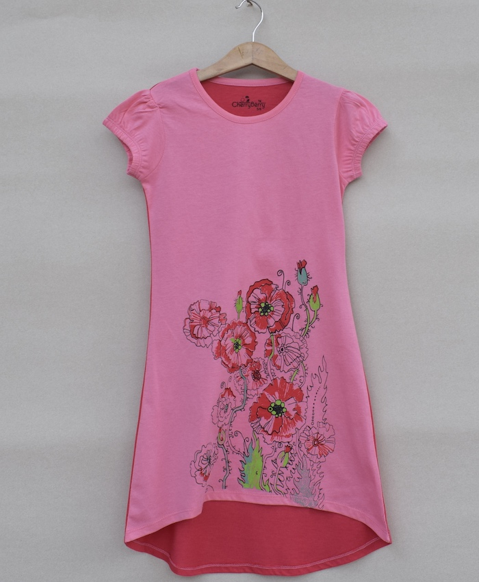 Girls Long length T-shirt