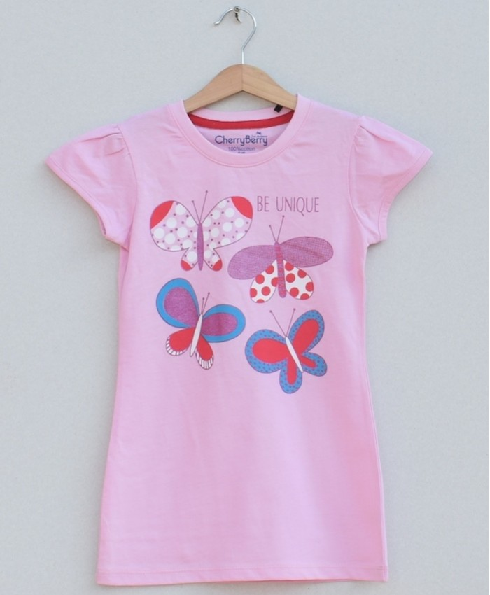 Girls printed T-shirt (S19G35)