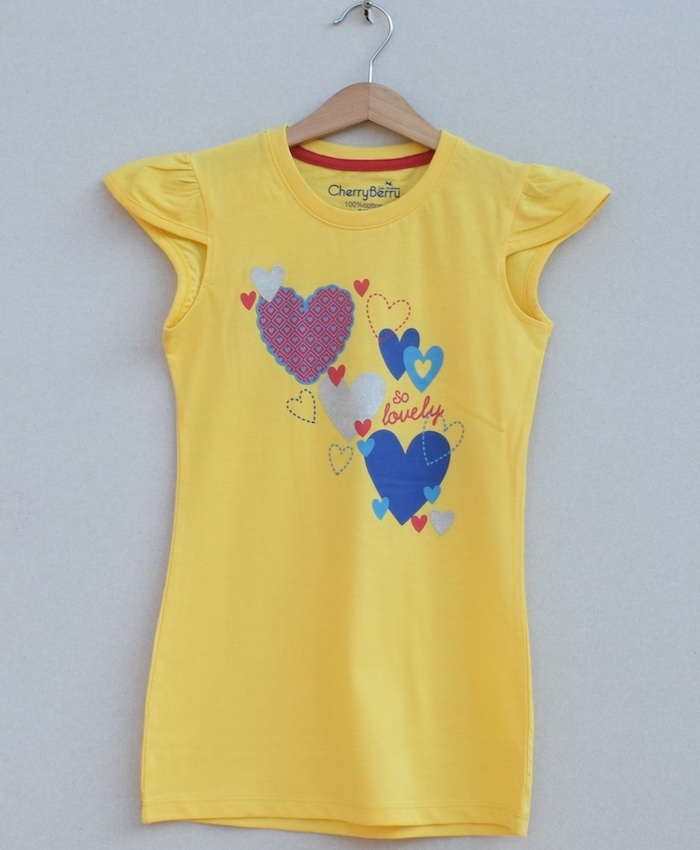 Girls printed T-shirt (S19G36)