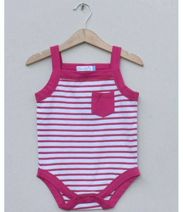 Baby Girls printed bodysuit(S19G38)