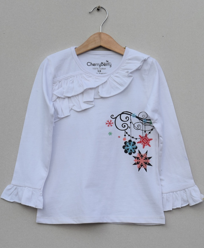 Baby Girls Printed T-shirt (S19G44)