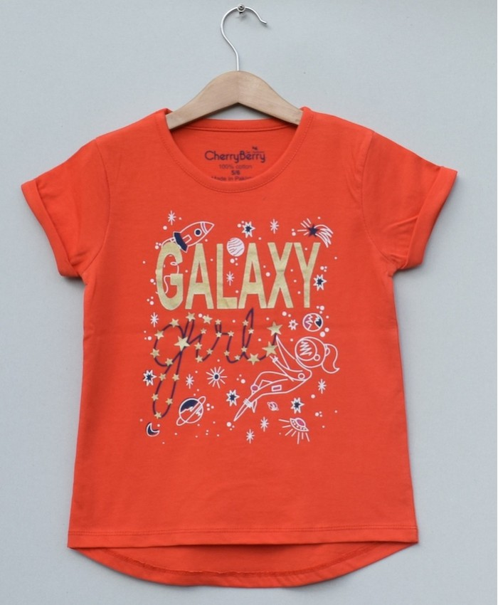Girls glaxy t-shirt