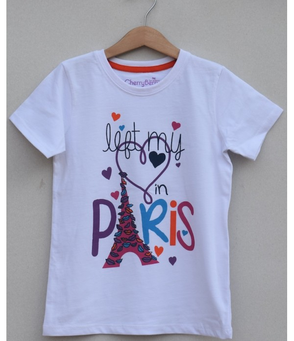 Girls Printed T-shirt (S19G57)