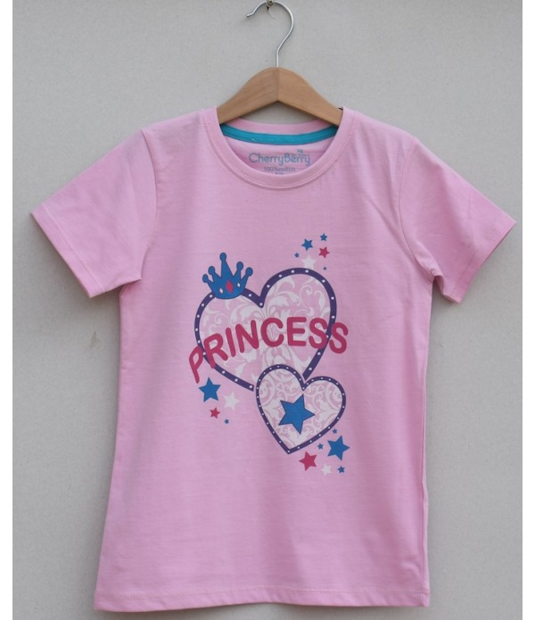 Girls Printed T-shirt (S19G58)