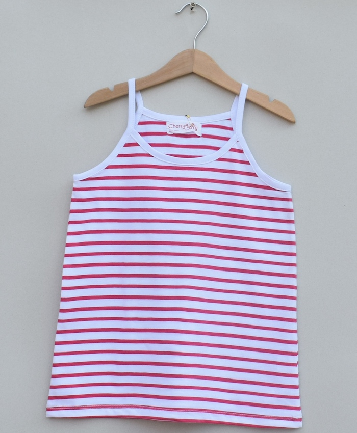 Girls strips Tanktop (S19G62)
