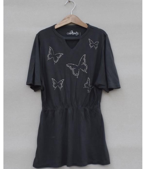 Girls Printed T-shirt (S19G75)