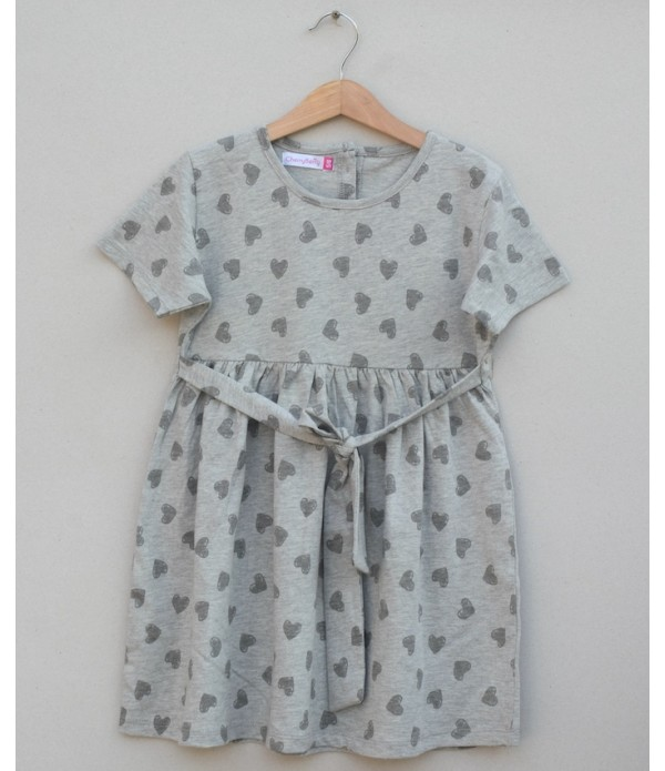 Girls knitted Frock (S19G87)