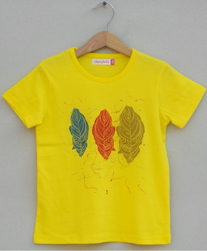 Girls Print T-shirt (S19G88)