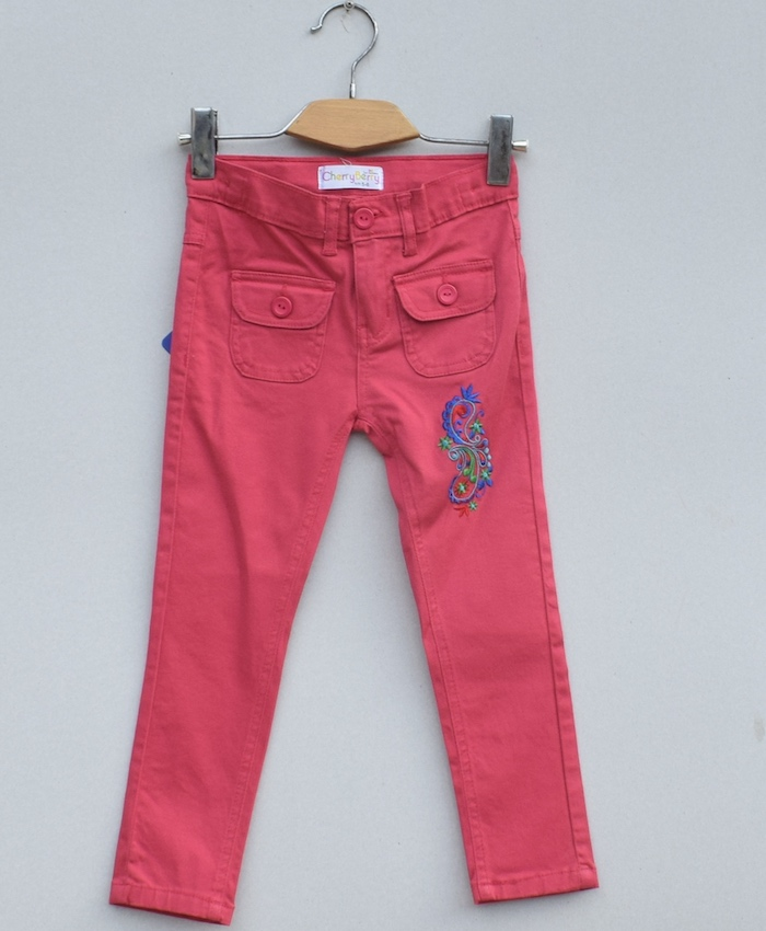 Girls cotton pant
