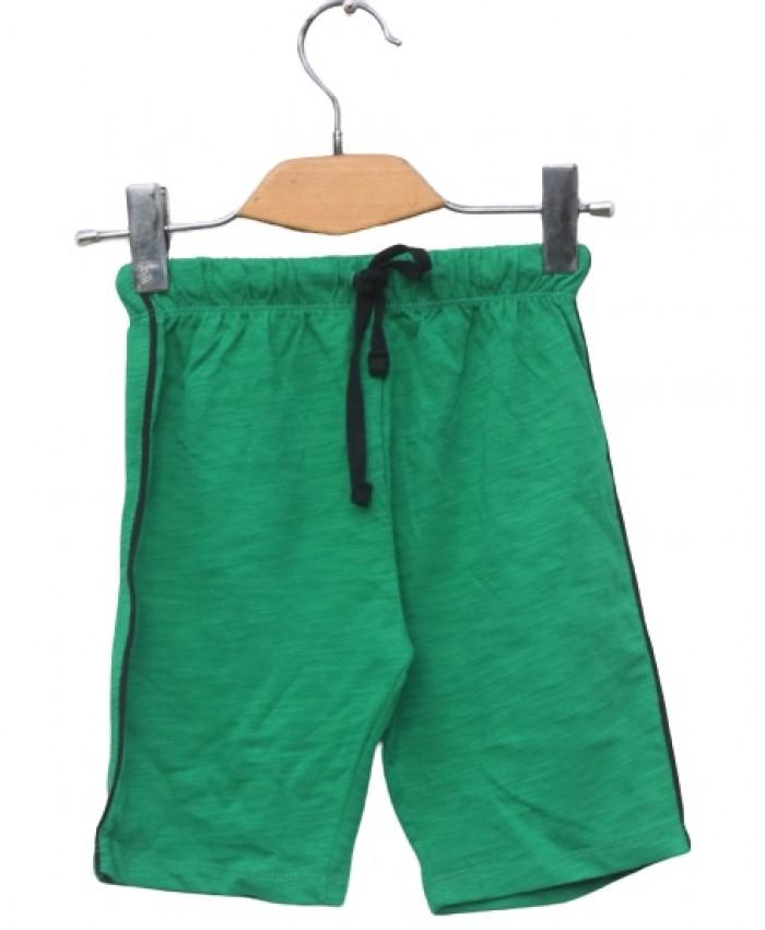 Dark green short