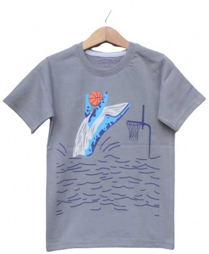 Shark printed T-shirt