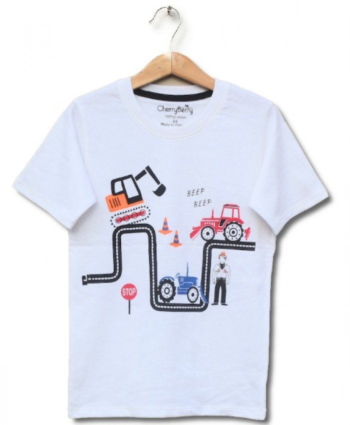 Zig zag Print T-shirt