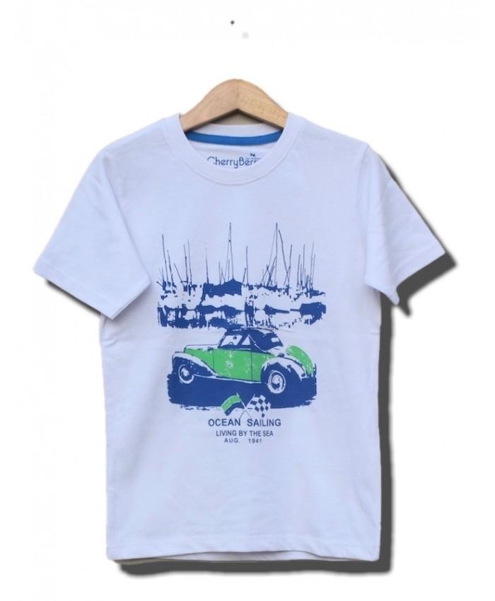 super car race t-shirt