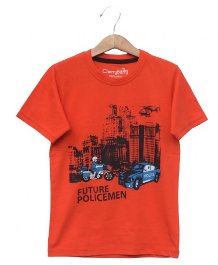 future police man T-shirt