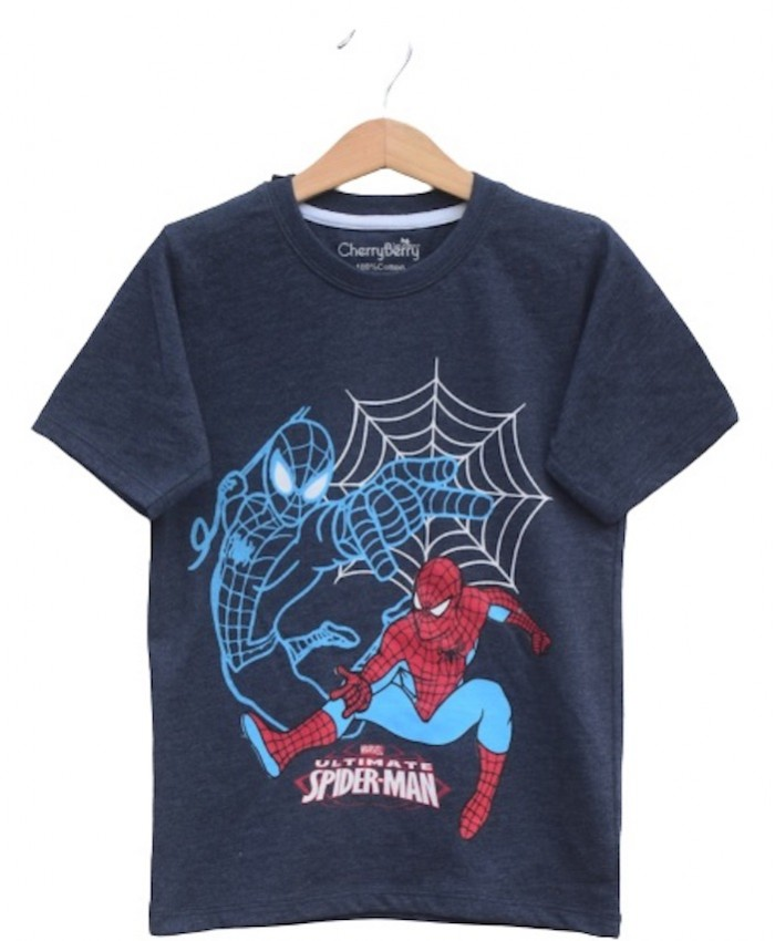 Boys spiderman T-shirt