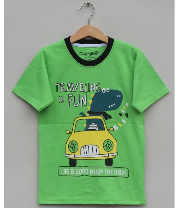 Boys Printed T Shirt (S20B24)