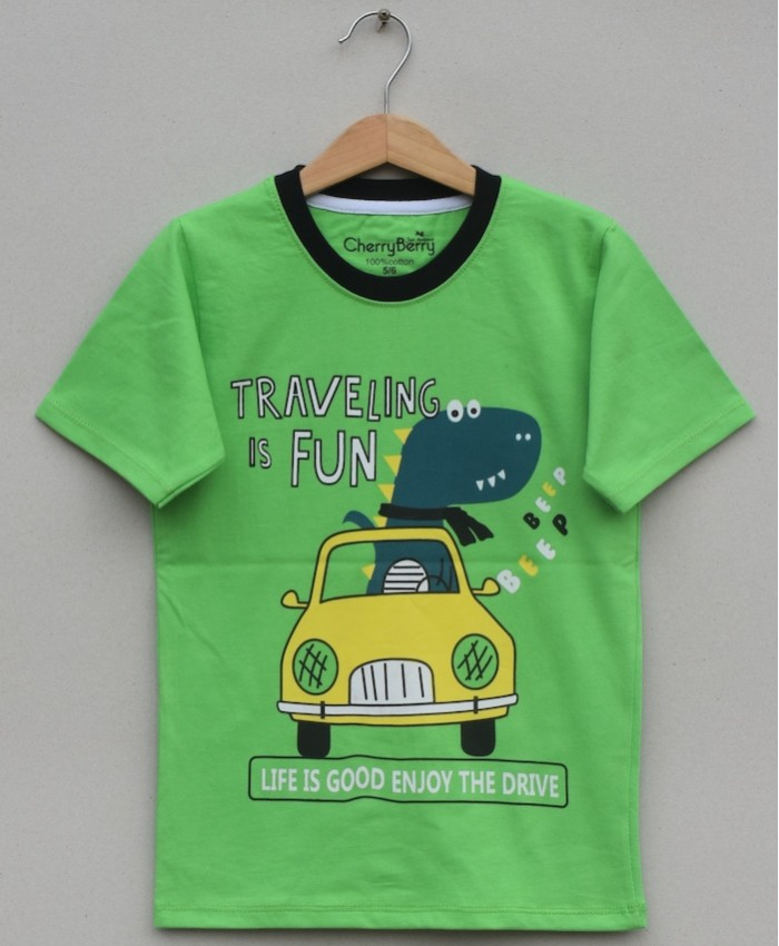 Boys Printed T Shirt (S20B24)