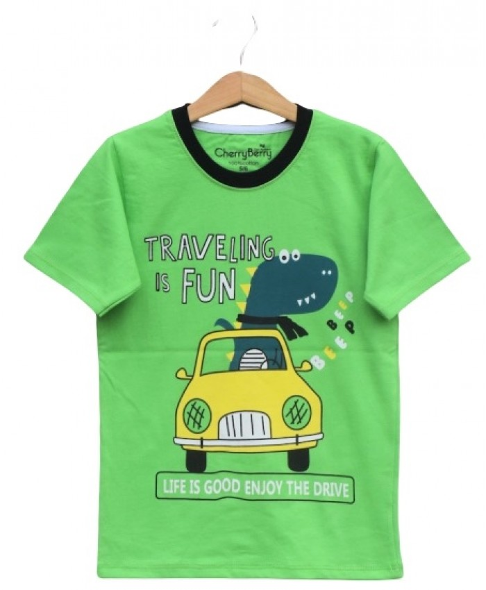 Traveling fun T-shirt