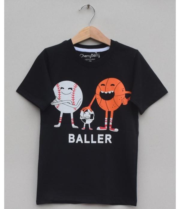Boys Printed T Shirt (S20B26)