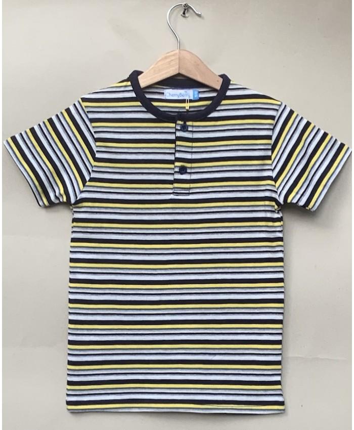 BOYS stripsT-shirt