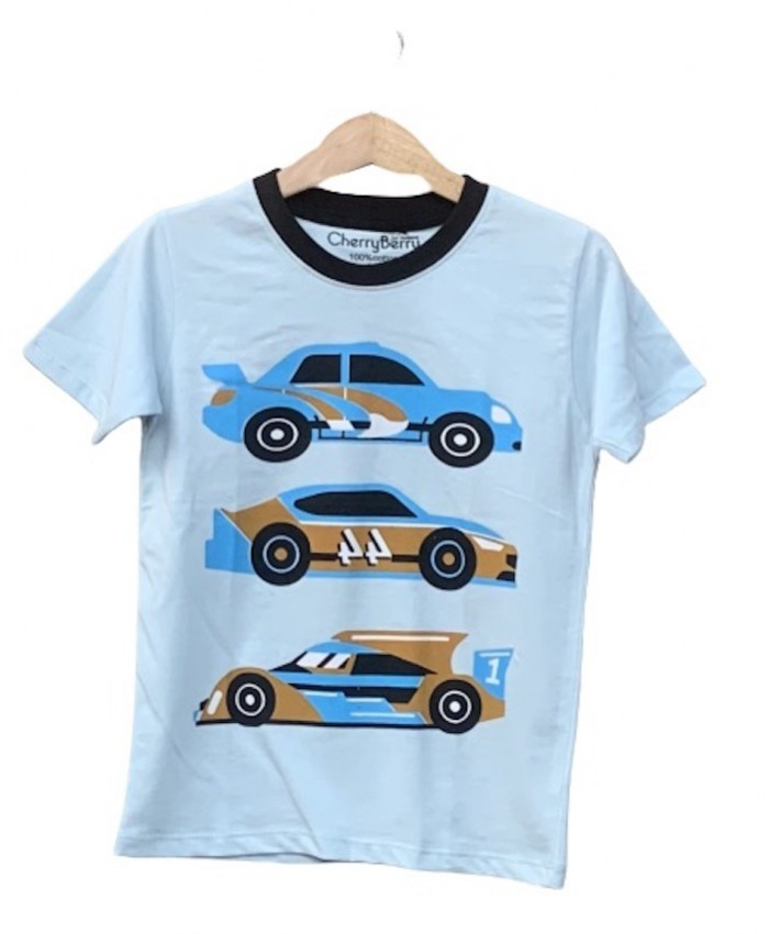 Cars Print T-shirt