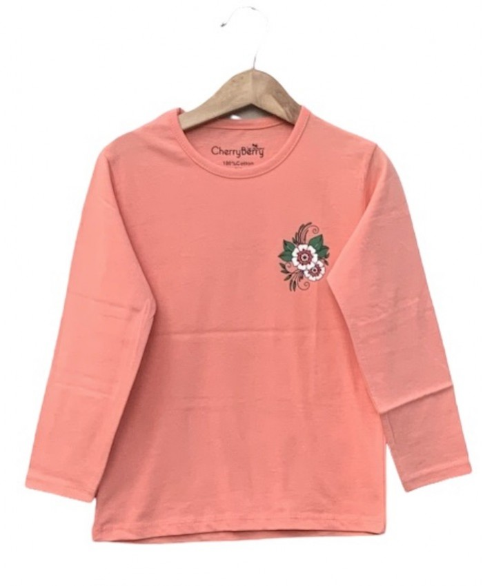 girls long sleeve sumer T-shirt