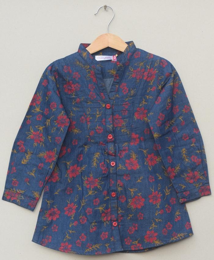 Girls cotton Blouse (S20F01)