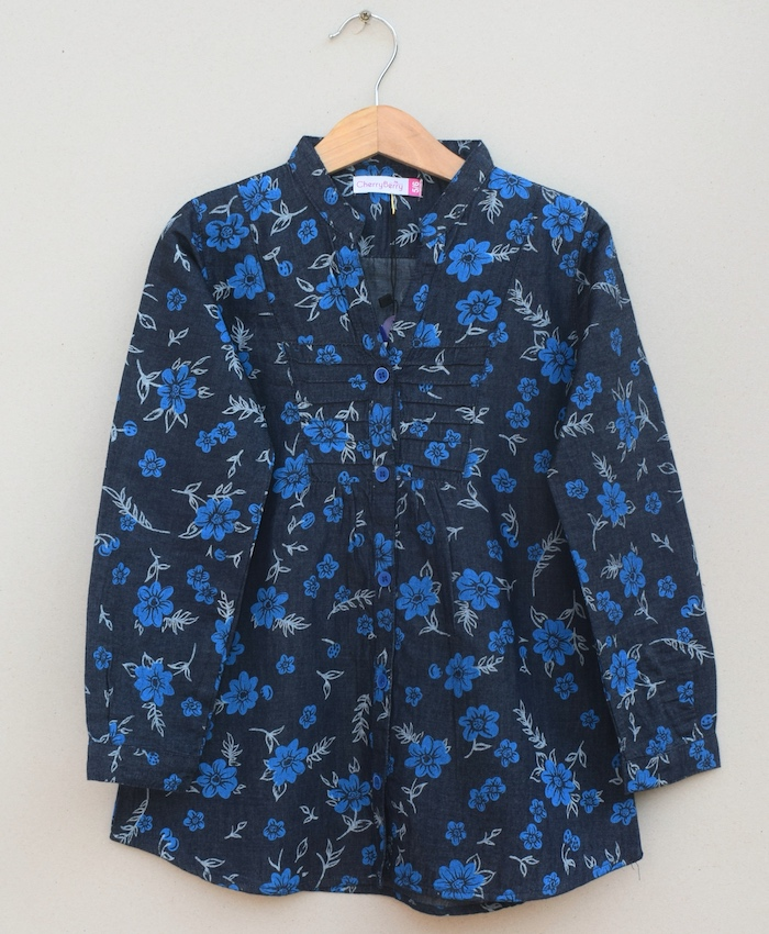 Girls cotton Blouse (S20F11)