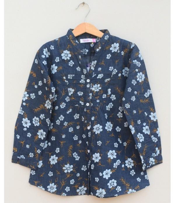 Girls cotton Blouse (S20F12)