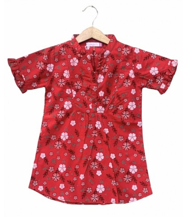 Summer girl cotton dress