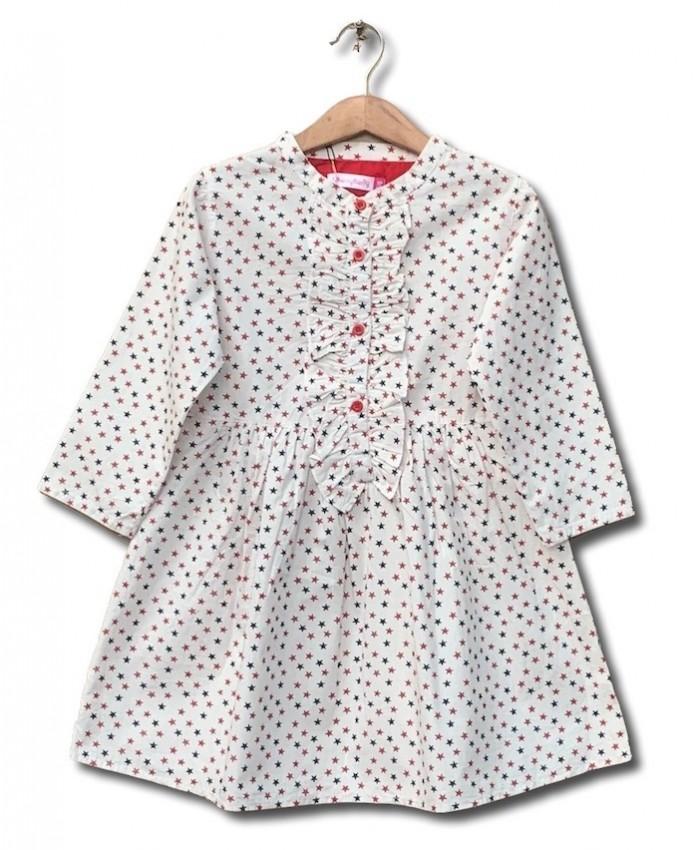 cotton printing dress