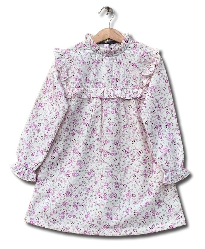 cotton printing dress