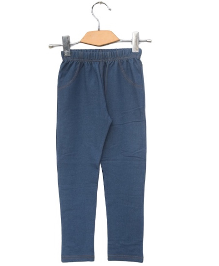 Girls stretch Denim Terry Jagging