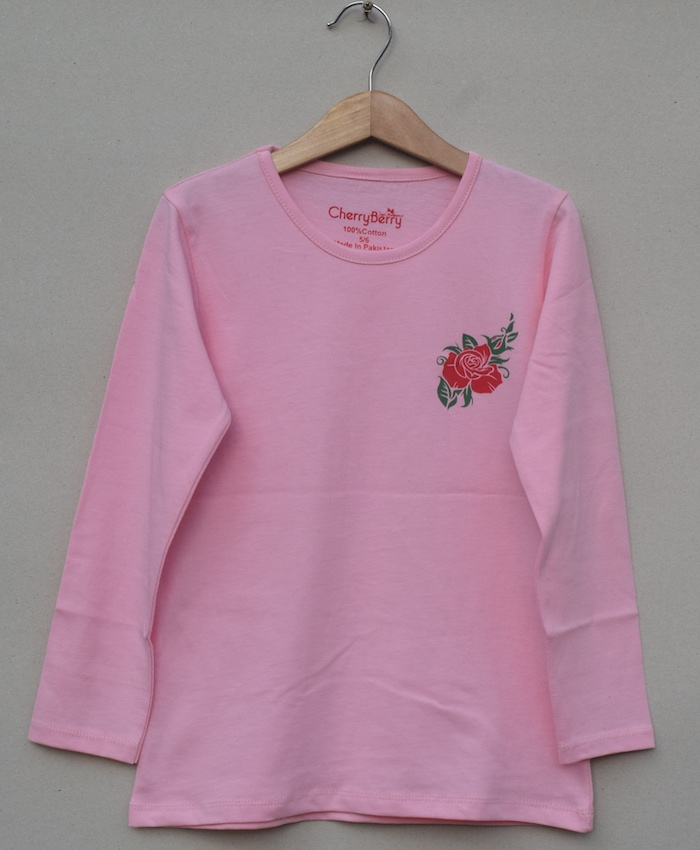 Girls printed T-shirt (S20G09)