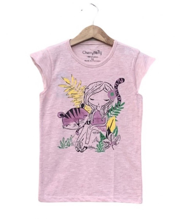 Girl cat T-shirt