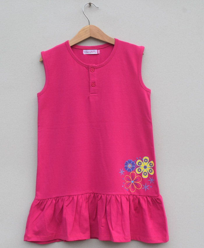 GIRLS PRINTED T SHIRT (S20G25)
