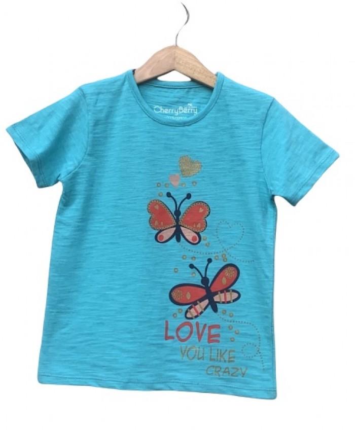 flying butterflies T-shirt