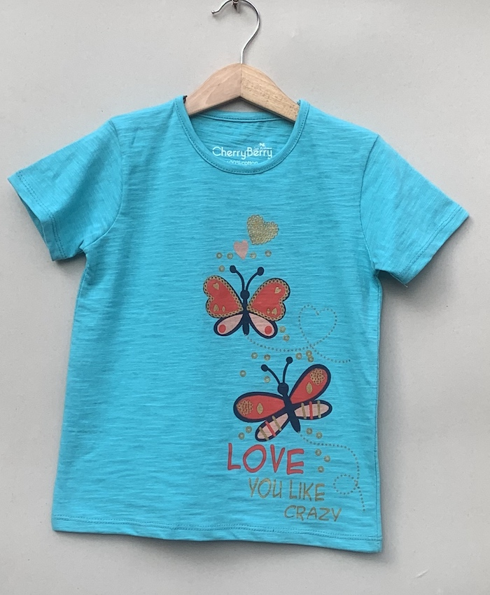 flying butterflies T-shirt