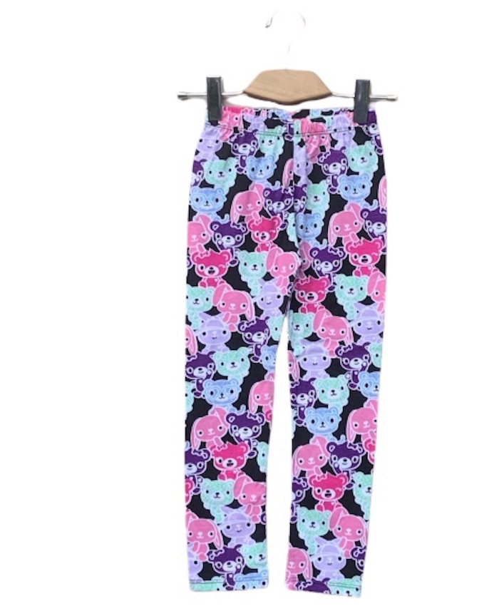 Girls allover Printed Tight