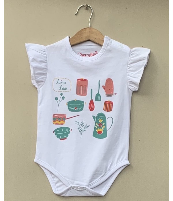 baby girl printed Romper