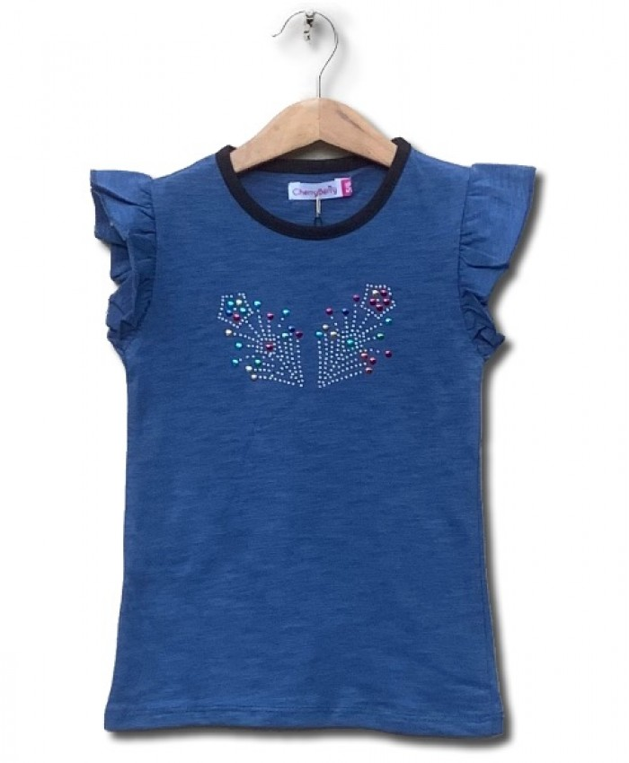 Diamontied T-shirt