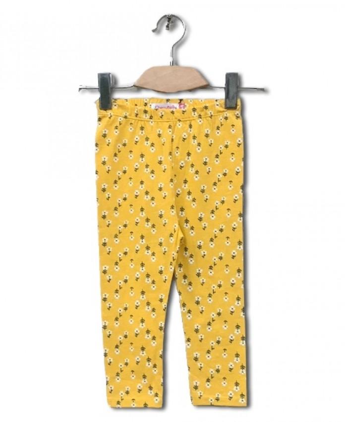 allover printing capri tights
