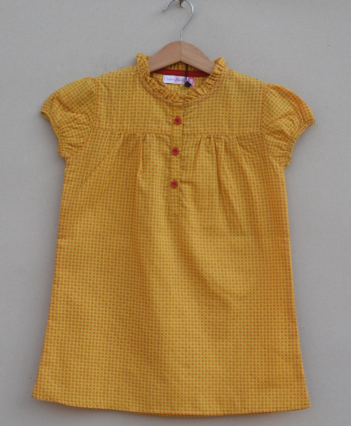 Girls cotton Blouse (S20F03)