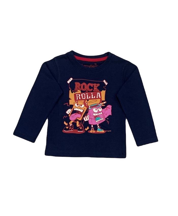 Boys L/S Printed T-Shirt