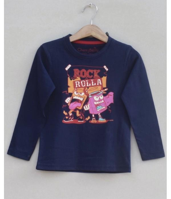 Kids Printed T-shirt (W18B11)