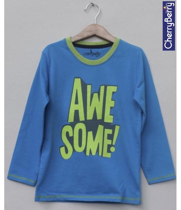 Kids Printed T-shirt (W18B12)