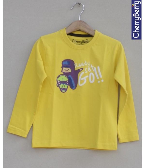 Baby Kids Printed T-shirt (W18B29)