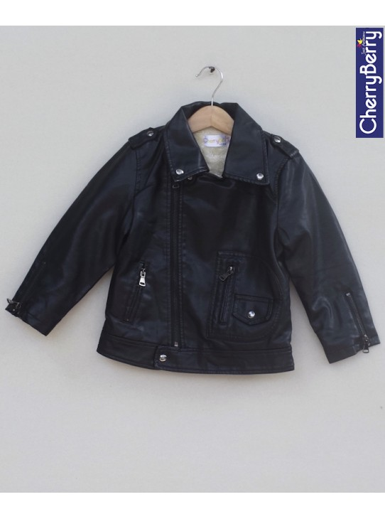 Unisex leather Jacket (W18J04)